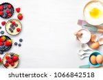 baking utensils and cooking... | Shutterstock . vector #1066842518