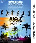 colour grunge poster for summer ...