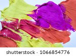 multicolored abstract texture... | Shutterstock . vector #1066854776
