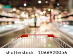 shopping cart with abstract...   Shutterstock . vector #1066920056