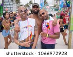 thousands attend the gay pride... | Shutterstock . vector #1066972928