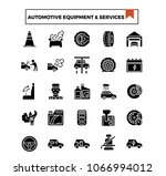 automotive equipment and... | Shutterstock .eps vector #1066994012