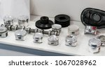 automotive part production by... | Shutterstock . vector #1067028962