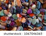 different natural mineral gems... | Shutterstock . vector #1067046365