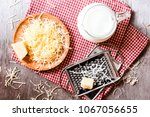 ingredients for pasta dish or... | Shutterstock . vector #1067056655