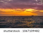 isla mujeres island caribbean...   Shutterstock . vector #1067109482