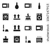 flat vector icon set   toilet... | Shutterstock .eps vector #1067147915