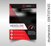 brochure template of the...   Shutterstock .eps vector #1067157632