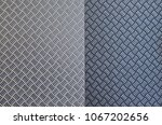 background of metal with... | Shutterstock . vector #1067202656