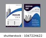 business abstract vector... | Shutterstock .eps vector #1067224622
