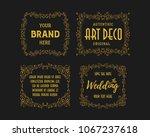 vintage beauty retro ornament... | Shutterstock .eps vector #1067237618