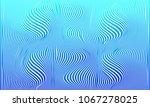 wave distortion effect pattern. ... | Shutterstock .eps vector #1067278025