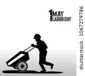 illustration for labor day | Shutterstock .eps vector #1067279786