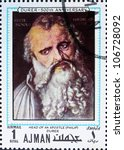 ajman   circa 1970  a stamp... | Shutterstock . vector #106728092