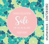 discount and sale promotion... | Shutterstock .eps vector #1067281082