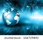best internet concept of global ... | Shutterstock . vector #106729892