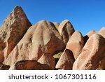 cappadocia landscape in red... | Shutterstock . vector #1067301116