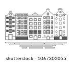 vector illustration of building ... | Shutterstock .eps vector #1067302055