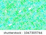 seamless bright green forms ... | Shutterstock . vector #1067305766