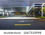the road next to the office | Shutterstock . vector #1067310998