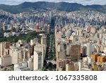 aerial urban view   city of ... | Shutterstock . vector #1067335808
