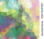 low polygon pastel background ... | Shutterstock .eps vector #1067353595