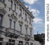 Small photo of classic architecture facade