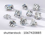 ten diamonds of the most... | Shutterstock . vector #1067420885