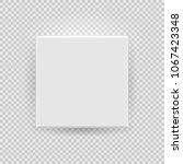 white box mock up model 3d top... | Shutterstock .eps vector #1067423348