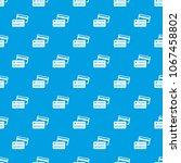 credit card pattern vector... | Shutterstock .eps vector #1067458802