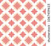 vector cute ornamental seamless ... | Shutterstock .eps vector #1067459615