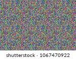 vector tv vhs noise flickering. ... | Shutterstock .eps vector #1067470922