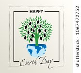 postcard congratulations on the ... | Shutterstock .eps vector #1067472752
