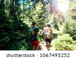 blurred image.group of people... | Shutterstock . vector #1067495252