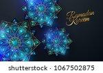 ramadan kareem. abstract girih... | Shutterstock .eps vector #1067502875