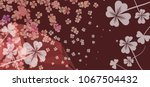 abstract modern background with ... | Shutterstock .eps vector #1067504432