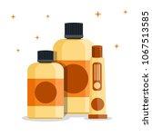 luxury rich cute biege vintage... | Shutterstock .eps vector #1067513585