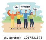 vector cartoon illustration of... | Shutterstock .eps vector #1067531975