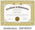 vector illustration of gold... | Shutterstock .eps vector #106760315