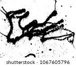 hand made grunge texture....   Shutterstock .eps vector #1067605796