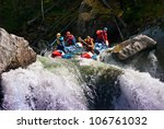 White Water Rafting On...