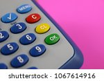 colorful keypad of an... | Shutterstock . vector #1067614916