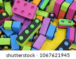 children's constructor. big... | Shutterstock . vector #1067621945