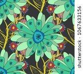 colorful tribal ethnic festive... | Shutterstock .eps vector #1067633156