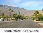 palm springs street  california ...   Shutterstock . vector #106763426