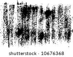 stroke paints on a rough...   Shutterstock .eps vector #10676368