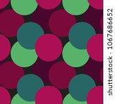 vector seamless pattern. modern ... | Shutterstock .eps vector #1067686652