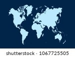 color world map vector | Shutterstock .eps vector #1067725505