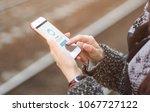 ufa  russia june 4  2017 ... | Shutterstock . vector #1067727122