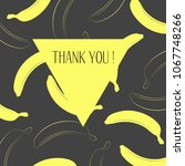 vector illustration with yellow ... | Shutterstock .eps vector #1067748266